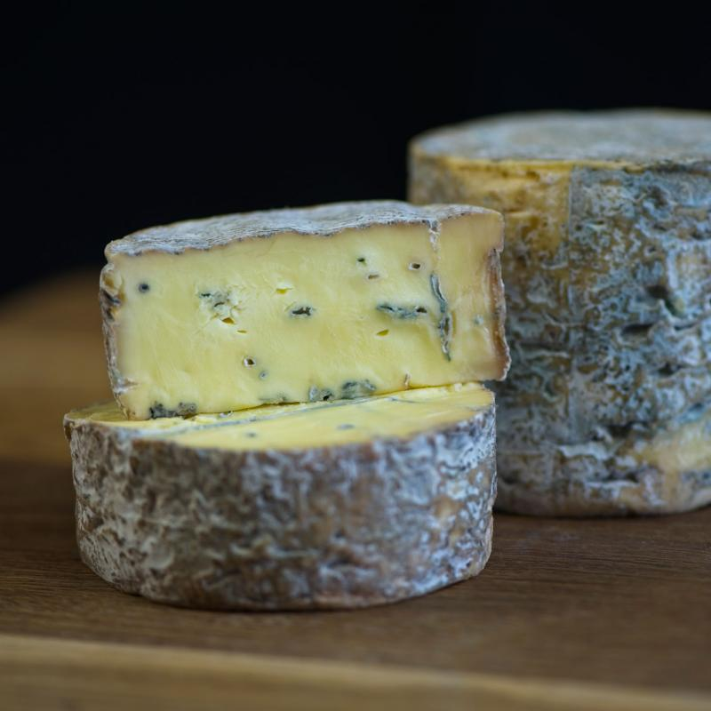 wedge of bluebell cheese